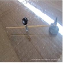 Coupeur en verre rond pour outils de coupe