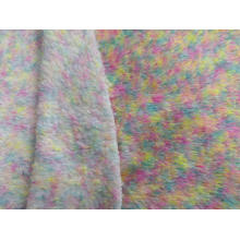 100% Polyester Malange Sherpa Fleece Strickstoff