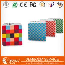 Nouveau produit Meilleur mode personnalisé Custom Usb Chargeur de voyage Accessoires mobiles