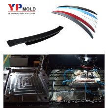 car plastic spoiler injection mould auto bump mold