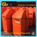 Plastic Pipe Floater for Dredging Project