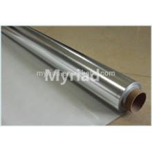 Papel de aluminio de la lámina de la lámina de la fibra de vidrio,, Material de cubierta reflectante y de plata Material laminado de aluminio revestido de la hoja