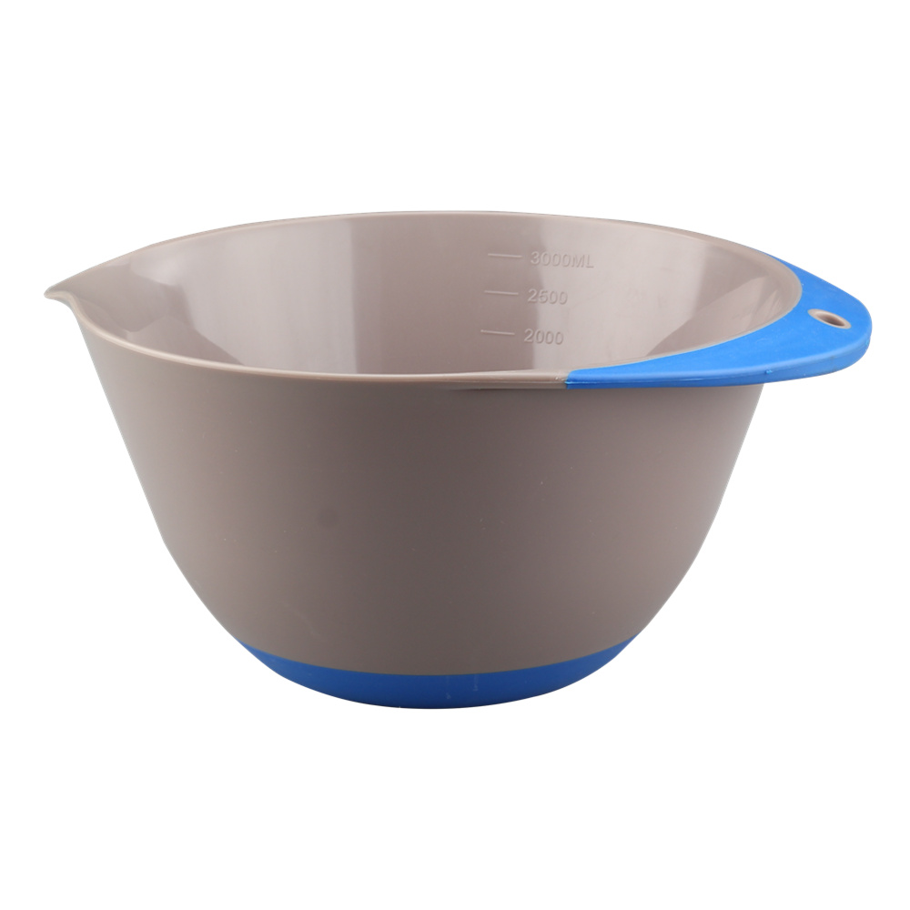 White Plastic Mixing Bowl