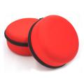 Gros rouge eva maquillage boîte de bouteille de parfum avec rembourrage en mousse