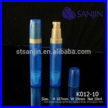 2014 Nuevo frasco de bomba sin aire de 5ml con bomba sin aire 10ml botella de bomba sin aire