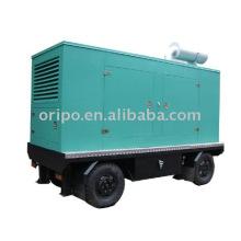 Shangchai moving mobile trailer generator