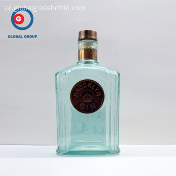 Brooklyn Gin Glass Bottle OEM المنتج