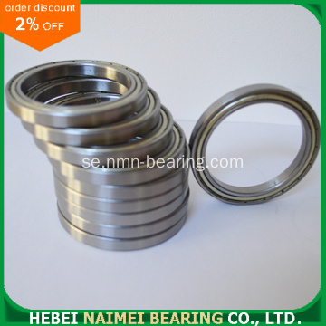 Tunnsektion Deep Groove Ball Bearing 6804ZZ