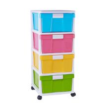 Heißer Verkauf Veranstalter Schublade Schrank Kunststoff für Zuhause