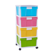 Hot sale organizer storage drawer cabinet plastic for home