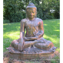 outdoor decoration sculpture metal craft large bronze buddha statue