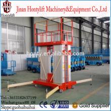 aluminum lift platform/one man lift/single person hydraulic lifts