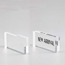 Löschen Acryl Block mit Logo Printing Display