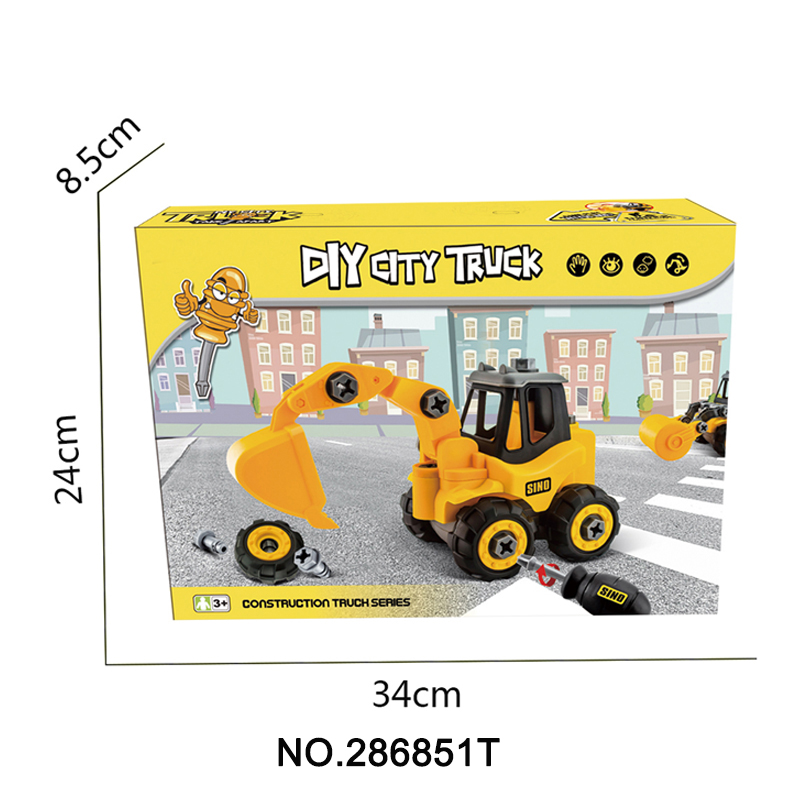 286851t Truck Toys For Kids