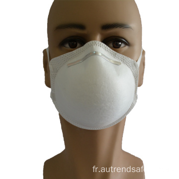 Masque facial en forme de tasse KN95 anti masque anti-grippe jetable