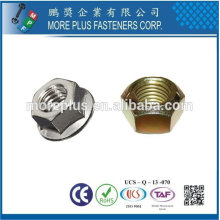 Taiwan High Strength Stainless Steel Copper Brass Aluminium Hex Nut Nylon Lock Nut
