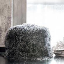 Hộ gia đình Bất Rabbit Fur Pillow Case Cushion Cover