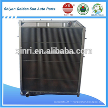 Radiateur en aluminium pour tubes en usine pour camions BEIBEN 5065001101