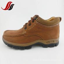 Homens de alta qualidade MID-Cut Causal couro botas de couro (MF715)
