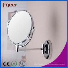 Fyeer alta qualidade dupla lateral ampliação espelho de maquiagem (m0728)