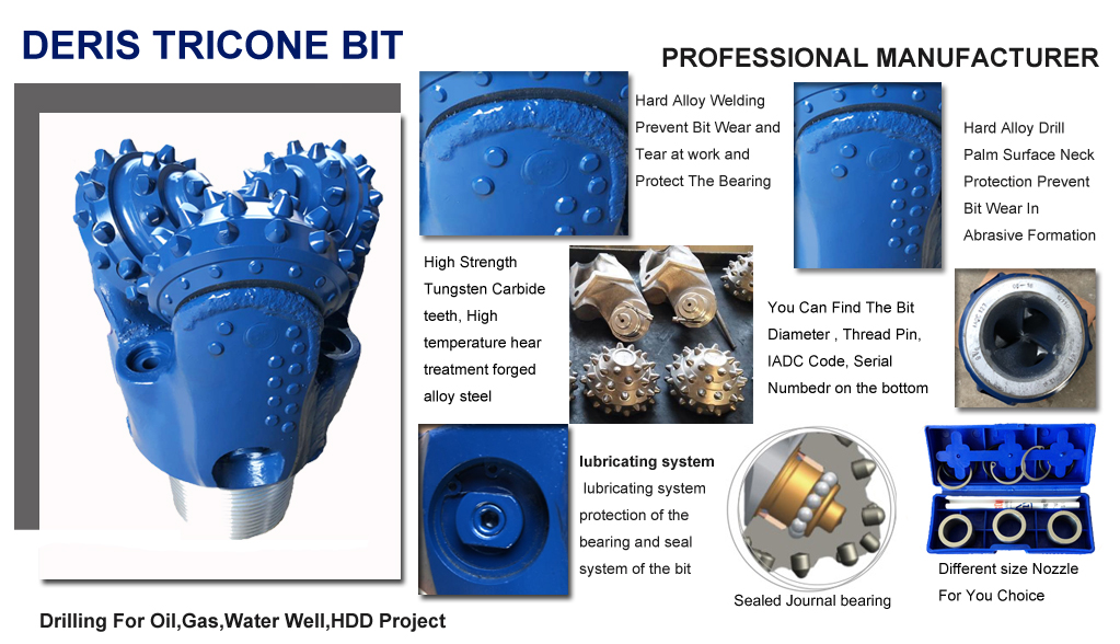 water well Tricone bit