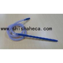 Flexable Most Popular Silicone Hose Shisha Nargile Smoking Pipe Hookah