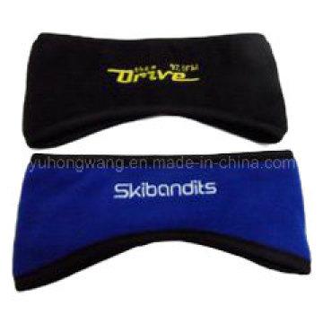 Customized Polar Fleece Sports Wristband/Headband