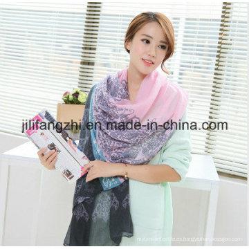 Tela de gasa para bufanda