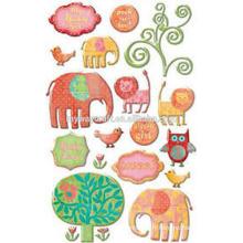 Creative Imaginations Signature Collection Rodeo Epoxy Stickers