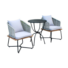 New design patio coffee table and chairs set