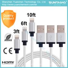 Novo 8pins USB Data Lightning Cabo de Carregamento para iPhone