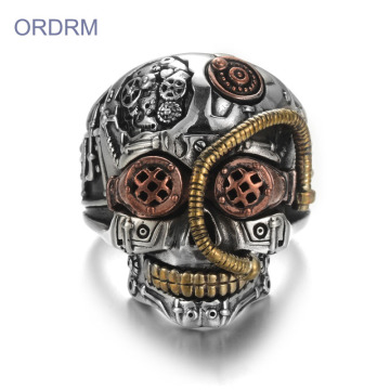 Partihandel Custom Skull Rings For Men