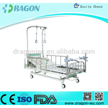 Hospital orthopedic traction bed with ABS detachable head/foot board