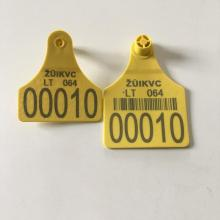 Laser printing cattle eartag for cattle use