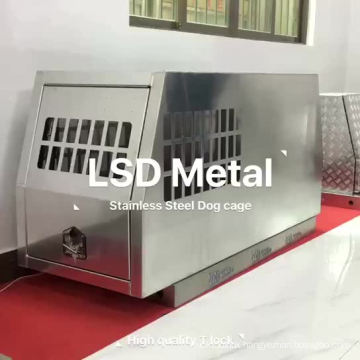 Aluminum alloy outdoor dog bed with ute canopy tool box