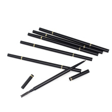 Etiqueta personalizada sobrancelha lápis lápis de sobrancelha impermeável magro