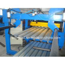 Máquina perfiladora de construcción de pisos de acero ISO