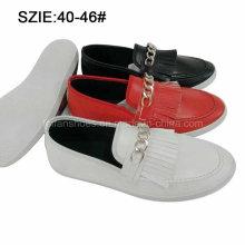 Слип новый стиль Мужской кисточкой случайные кожаные ботинки (MP16721-16)