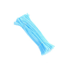 Factory direct sale Educational Toys 30cm*6mm Multi color pipe cleaner diy fuzzy stick craft chenille Stem for Kids