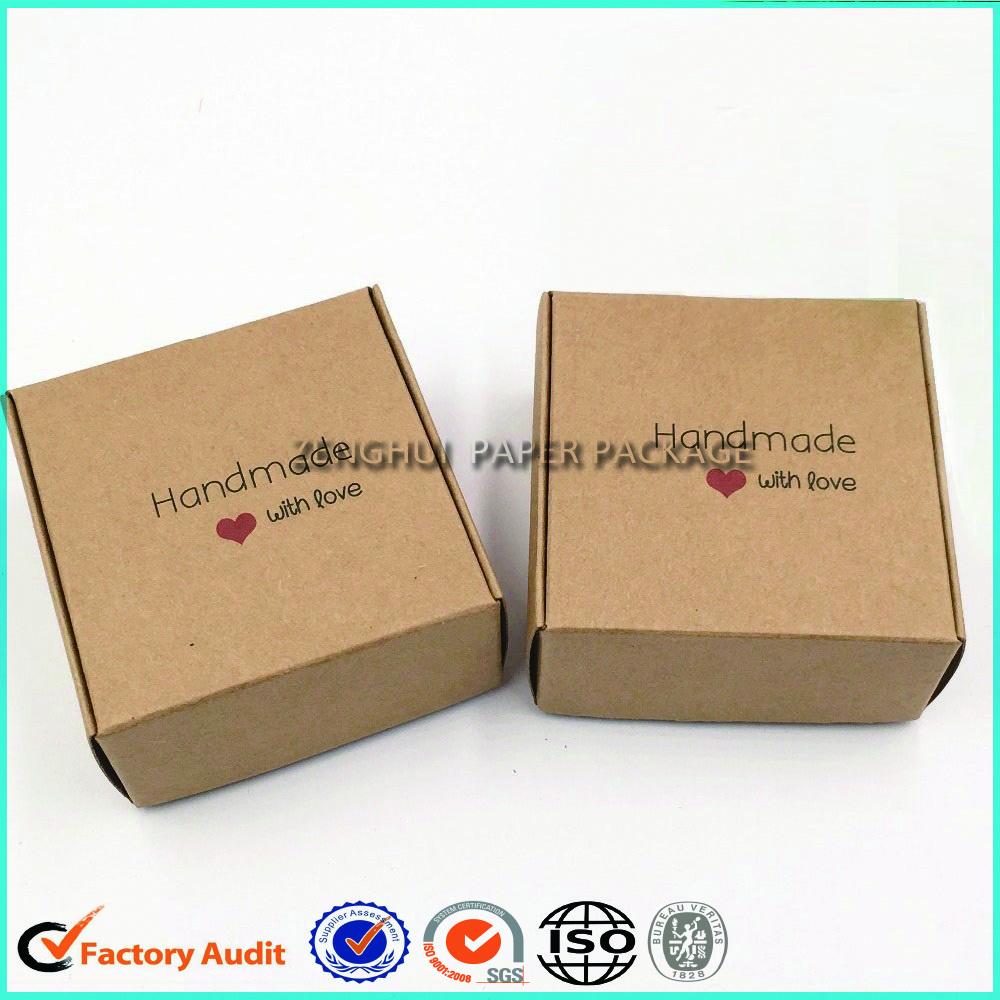Kraft Paper Packaging Box For Soap