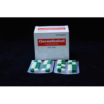 Chloramphenicol Capsule BP 500MG