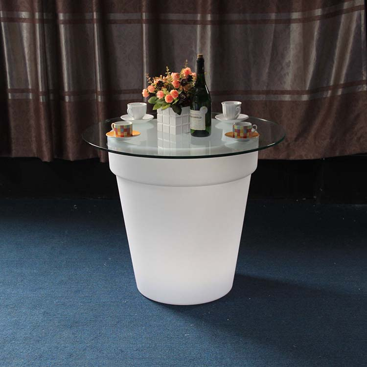 LED Furniture Remote Control Flower Pot