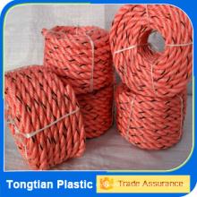 Corde d'amarrage de navire à haute résistance / ligne d'amarrage de bateau