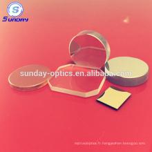 Miroir convexe en verre optique