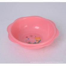 Lavatório redondo de plástico para bebé Washbowl