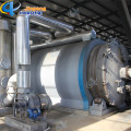 Waste Plastic Recycling and Pyrolysis Machine
