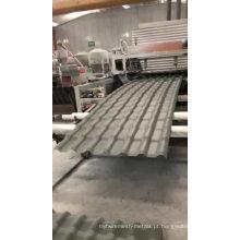 Telha de telhado espanhola de malha à prova de fogo de fibra de vidro