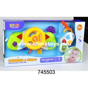 Baby Plastic Elektrische Spielzeug Set Musikinstrument Set (745503)