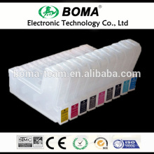 9pcs/lot. Refillable Wide Format cartridges T5801 - T5809 ,suit for Epson pro 3800 3805 3880 ,With sensor,Empty