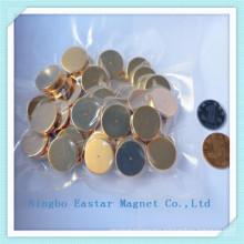 Gold Plating N35 Disc NdFeB Permanent Magnet